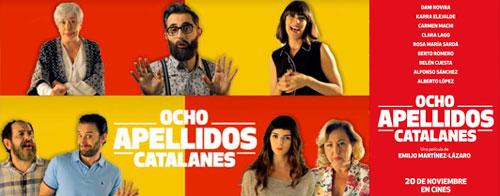 Película 8 apellidos catalanes 2016