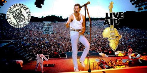Queen en el live Aid 1985 Mejor concierto en la historia del Rock