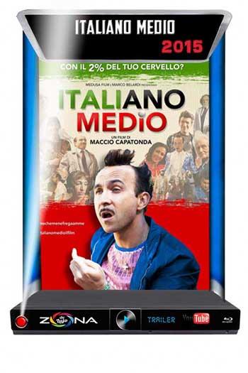 Película Italiano medio 2015