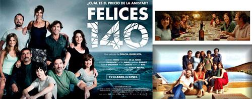 Película Felices 140 2015