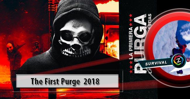 Película La primera purga: La noche de las bestias 2018