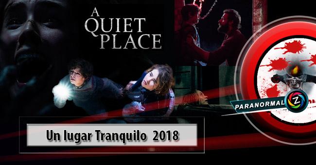 Película Un lugar Tranquilo 2018