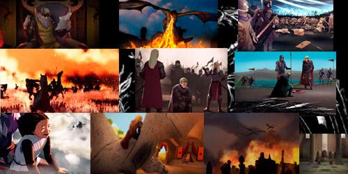 Aegon Targaryen conquista de los 7 Reinos