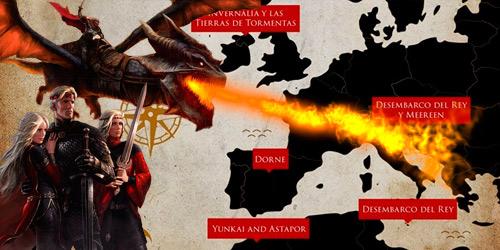 La conquista hacia los siete reinos