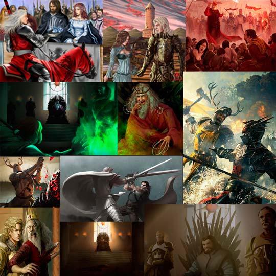 La caída de los Targaryen y nuevo rey en el Trono Robert Baratheon