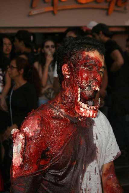 cara sangrada