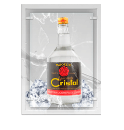 Aguardiente Cristal Caldas (Colombia)