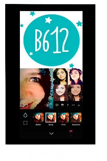 Aplicación B612