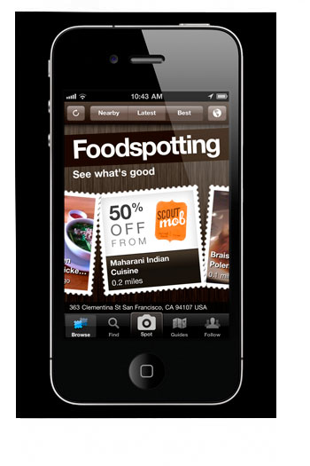 Aplicación Foodspotting