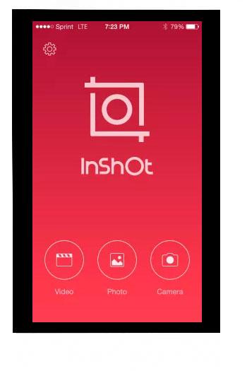 Aplicación Inshot