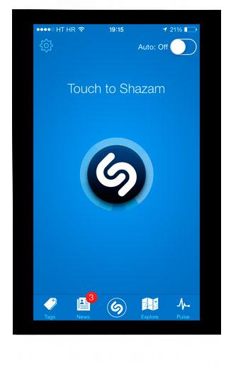 Aplicación Shazam