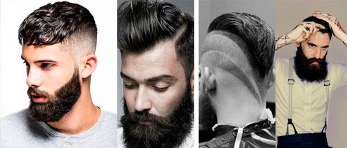 La barba en hombres