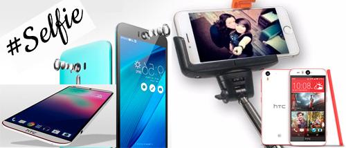 Smartphones recomendados por su cámara frontal o selfie