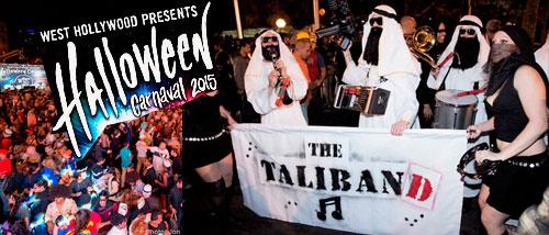 El West Hollywood Halloween event