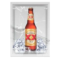 Cerveza dos equis ambar (México)