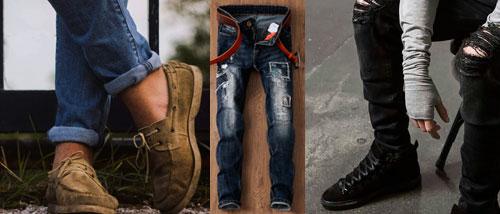 El denim ropa preferida hombres