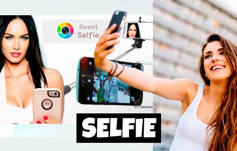 cámara selfie