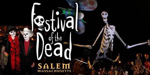 Festival de Salem de los Muertos evento halloween