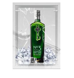 Ginebra nº3 london dry gin
