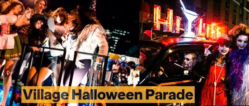 Village desfile de Halloween hecho en New York