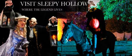 Sleepy Hollow in New York Halloween