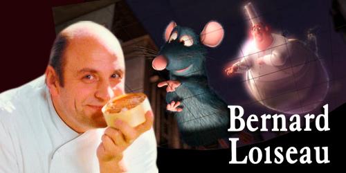 Bernard Loiseau chef inspiración para Ratatouille