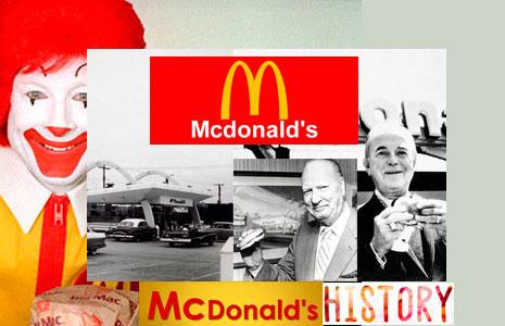 Historia acerca de Mcdonald's