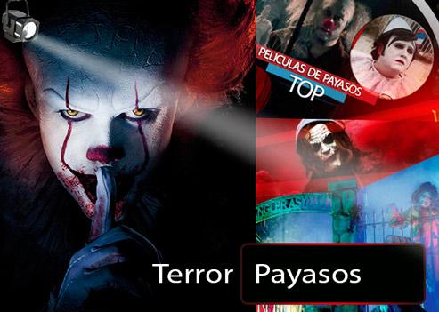 Películas Payasos Terror