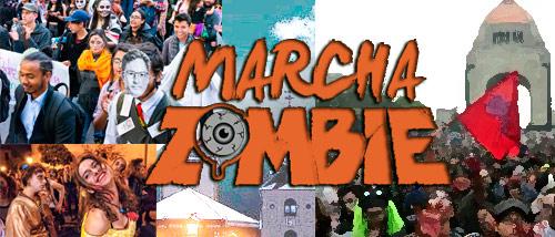 Marcha Zombie temática social