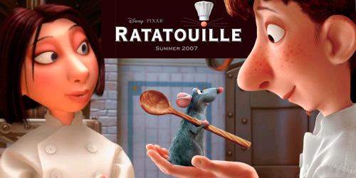 Película Ratatouille 2007 comentarios