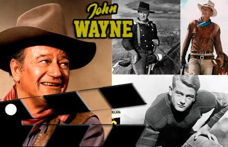 John Wayne icono actoral del western