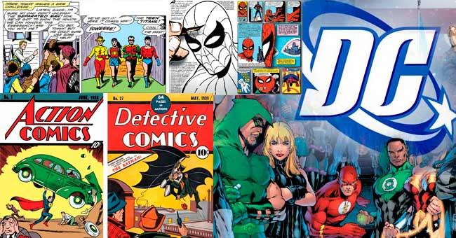 DC Cómics historia