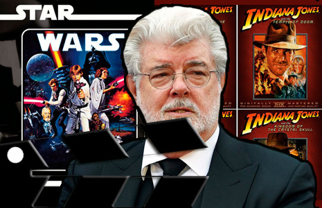 George Lucas director de películas taquilleras y sagas