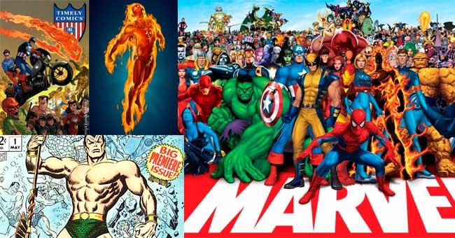 Marvel Cómics historia