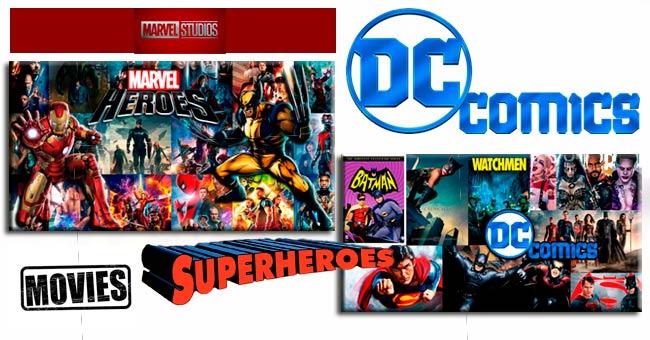 Películas de superhéroes y de los Cómics inicios