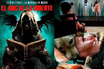 Película el abc de la muerte 2012