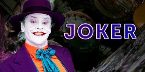 Joker de Jack Nicholson
