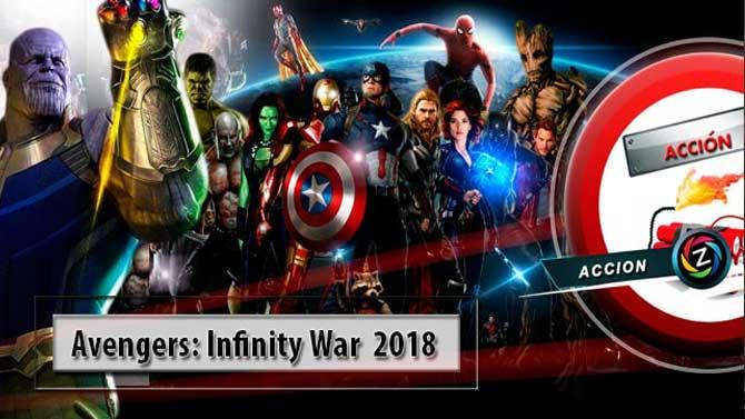 Avengers Infinity War 2018 de la más cara del cine