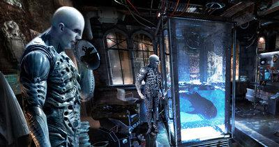Líquido negro en Prometheus (laboratorio alienígena)