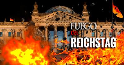 el Reichstag ardió en llamas