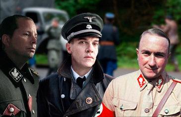 Las milicias del partido nazi