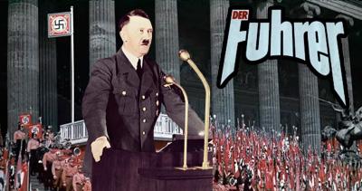 Hitler el Der Führer del Partido Nazi
