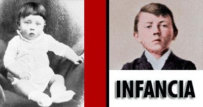 La niñez de Hitler