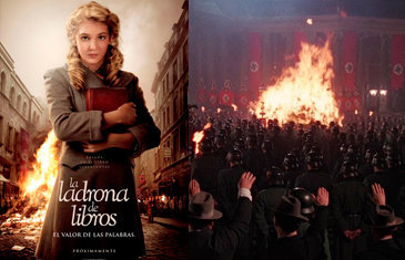 La quema de libros ocurrida durante el periodo nazi