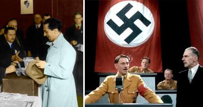 el partido nazi en las elecciones