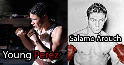 Salamo Arouch y Víctor Pérez