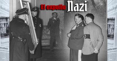 Hitler y Goering dos grandes saqueadores de obras de arte