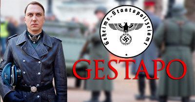 La Gestapo durante el periodo nazi