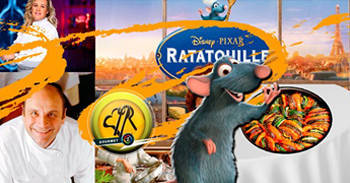 Ratatouille 2007 excelente película culinaria