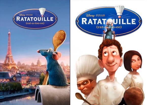 Película Ratatouille 2007